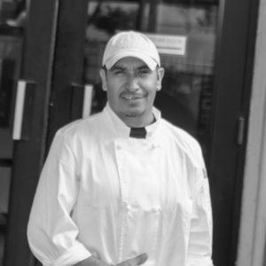 Sous Chef Alberto Ruan