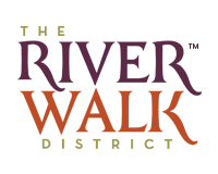The Riverwalk District Logo