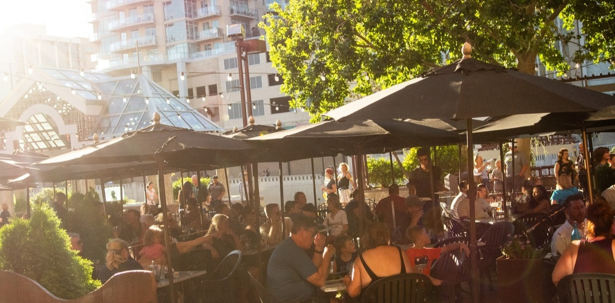Dine With Us Riverside, Our Patio Is Now Open