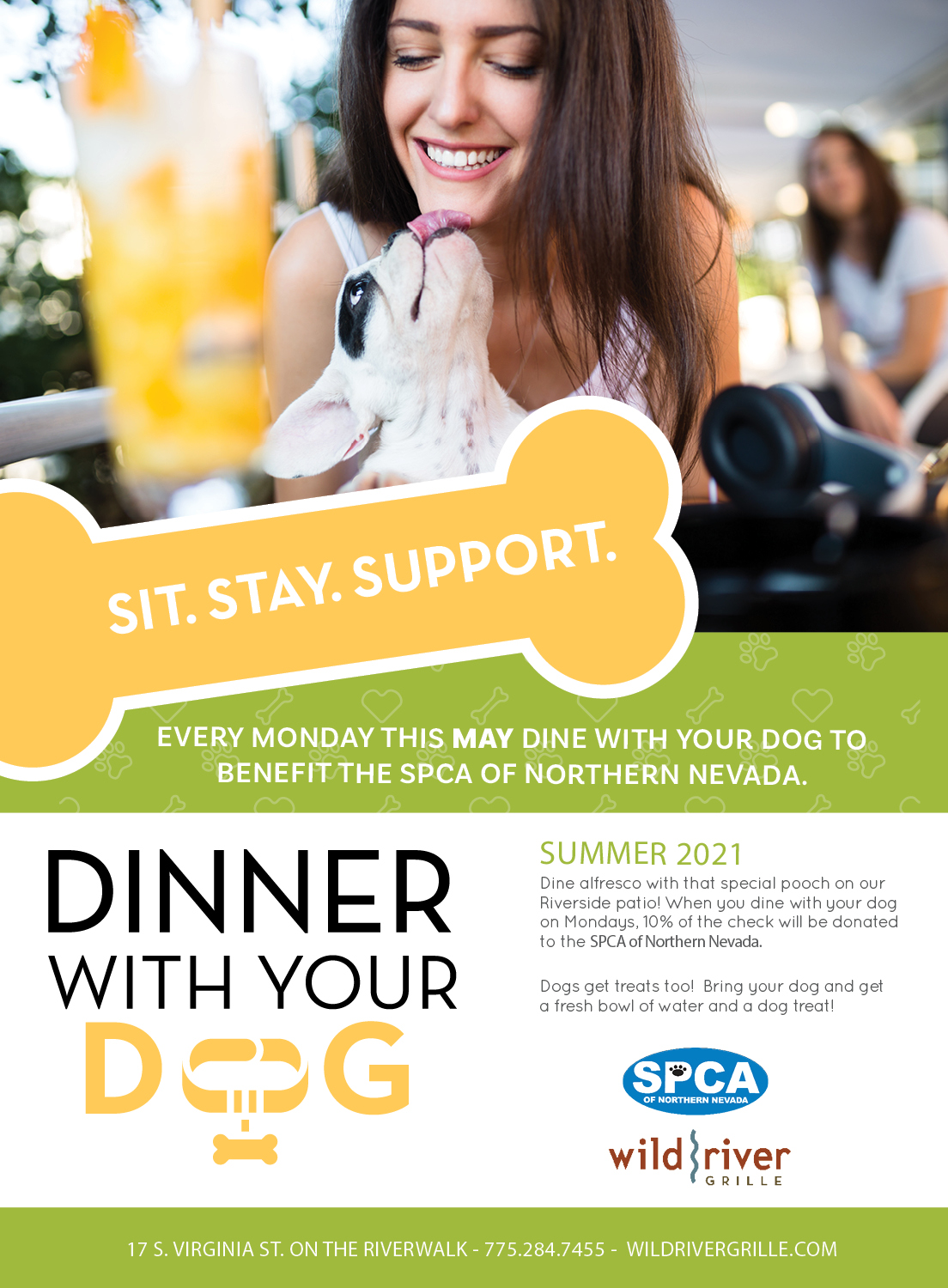 Dinner with your Dog SPCA
