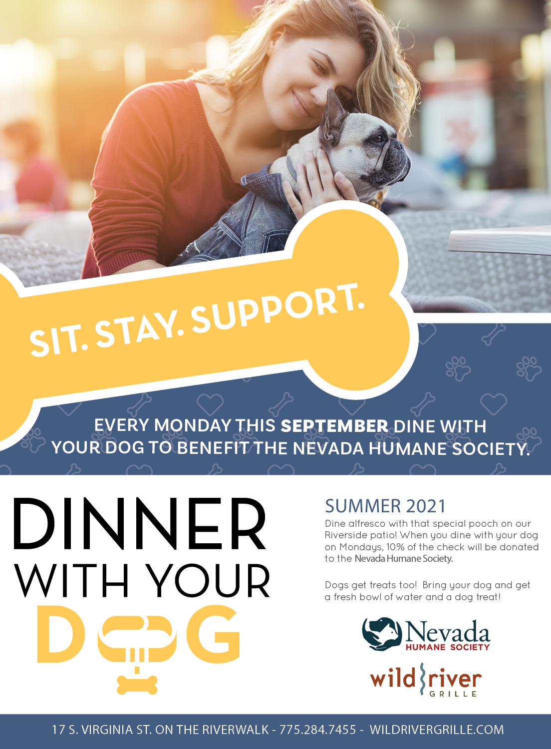 Dinner With Your Dog September